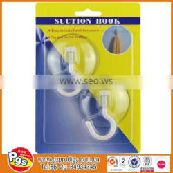 Household products Transparent suction hook/suction cup hanging holder