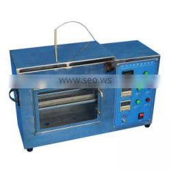 Combustion Test Machine Fabric Flame Retardant Tester Mask Flame Test Equipment
