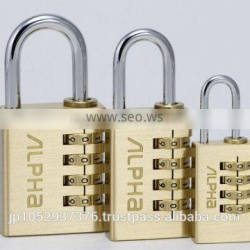 Strong against forced opening combination lock by alpha