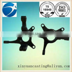 newest customized steel cast steering knuckle for auto parts 001