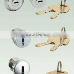 High security lock and key set, Industrial lock set