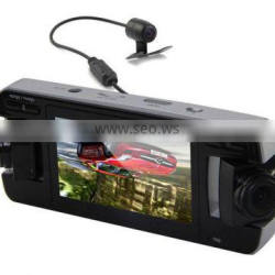 2.7 Inch TFT 720P HD Triple Cameras 360 Degree Full Security Auto Camcorder