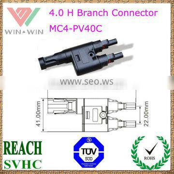 TUV Approval MC4-PV40C H Branch Connector