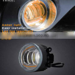 "Tinsin 3.5"" 4"" color changing h8 led fog light with DRL turn signal light"