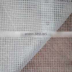 FILM MADE OF TRANSPARENT PE, REINFORCED GRID WITH AN APPROX WEIGHT OF 160g/m2