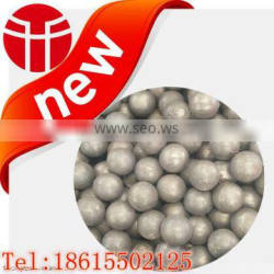 Jinan entered in the production of high quality more types of 80 mm middle chromium cast ball used in aluminum plant