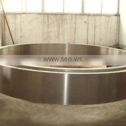 alloy steel cast tyre for rotary dryer riding ring