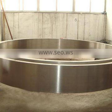 OEM kiln tyre wheel forged for mining industry