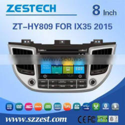 Factory OEM support car dvd gps for Hyundai ix35 2015 gps dvd with radio audio BT TV 3G wifi