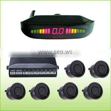 premium parking sensor aid system with 6 Sensors for all vehicles