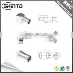 Shinto Customized BNC Male Right Angle Connector