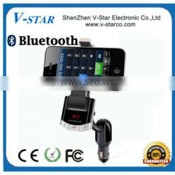 High Quality Car Holder with Bluetooth and Speaker for smart phone