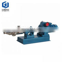 Sanitary stainless steel single and twin screw pump