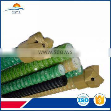 High tensile strength frp hollow rod for slope stablization