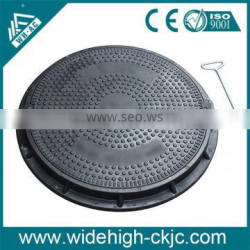 Rubber Price Of Manhole Cover/ Cast Iron Manhole Covers/Manhole Cover En124