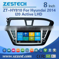 car dvd gps navigation for hyundai i20 2014 car dvd gps navigation with bluetooth 3G wifi DVR DVB-T TMC optional