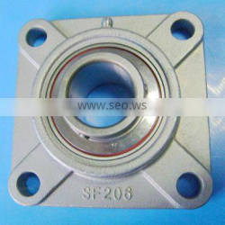"""2"""" Stainless Steel Flange Bearing Unit SUCF210-32 Equivalent SSUCF210-32 4 Bolt Mounted Bearings"""