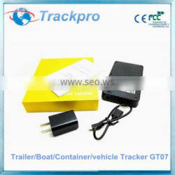 3-month standby time portable&rechargeable GPS tracking device with 10000mAh built-in battery