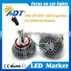Newest H8 32W E60 E92 E93 X5 LED CR EE Angel Eye e60 headlight bulb