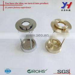 Copper machining part, Special copper CNC turning part with welding