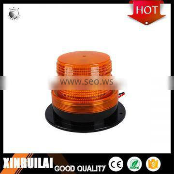 Light weight very quiet IP65 led strobe police lamp with black ABS base