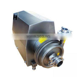 Stainless steel SS304 sanitary food grade chemical centrifugal pump