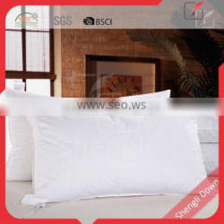 Pure sticky goose down feather filled pillow, feather and down pillow inserts