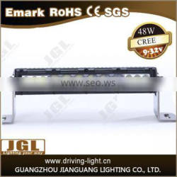 high quality JGL led light bar waterproof ip67 straight led light bar atv light bar