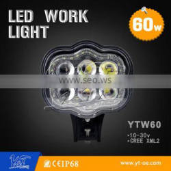 led 4x4 working light , drving working lamp 60w