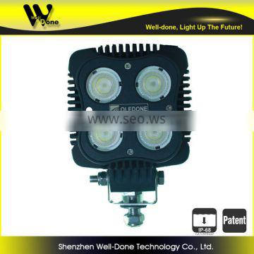 40w front bumper led work light for military vehicles