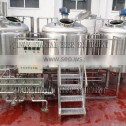 10HL-50HL Stainless steel Chinese Beer Brewing Equipment for sale