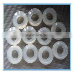 Clear silicone seal