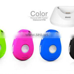 Hot selling with SOS alarm for dogs kids GPS personal tracker gps tracking software platform