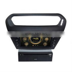 car audi system with gps for Peugeot 301 with 3G/Bluetooth/iPod