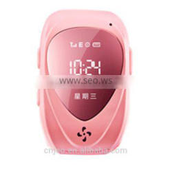 Child anti kidnapping gps tracker Kids GPS Tracker SIM Card Operated Watch for Children
