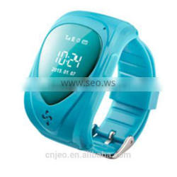 Kids gps watch gps gsm watch tracker with SOS panic button, LBS+GPS, mobile apps and long battery life