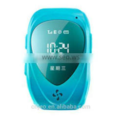 Kids gsm gps tracker watch gps tracking bracelet device with SOS panic button, LBS+GPS, mobile apps and long battery life