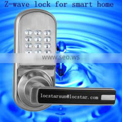 z-wave locks with number