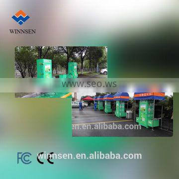 Public place car washing machine gas station/shoping mall/park lot