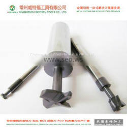 WTFTOOLS manufacturer non-standard tungsten carbide dovetail end milling cutter tools