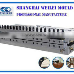 T-dies for PVC hollow grib panel and PVC hollow board