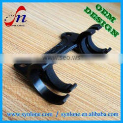 Top quality customized plastic pipe bracket with preferential price