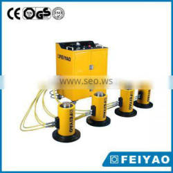 PLC synchronous lifting jack system