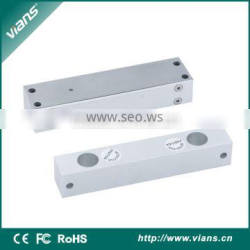 narrow panel electric bolt lock with time signal for wooden door