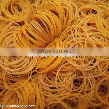 Durable anti-aging and non-toxic rubber bands for money Made in Vietnam Factory direct sell custom rubber bands printed or not