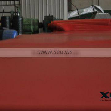 Red Natural Latex Sheet, Rubber Sheet Roll used for mining machine