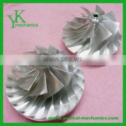 Turbocharger manufacturers precision 5 axis 100% qualified machining