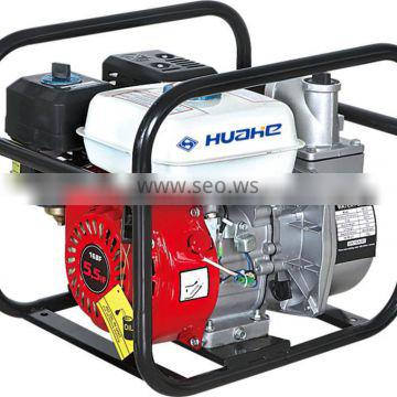 Hot!agricultural irrigation pump 2 inch,agricultural water pump 5.5hp gasoline