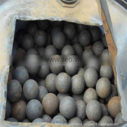 dia.25mm to 120mm forged steel mill balls, grinding media mill steel balls, steel fored mill balls