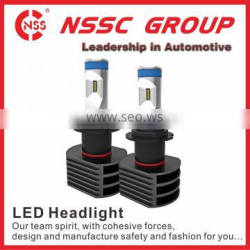 6000k Automotive LED headlight fanless high real lumen led headlight 5S led motorcycle headlight